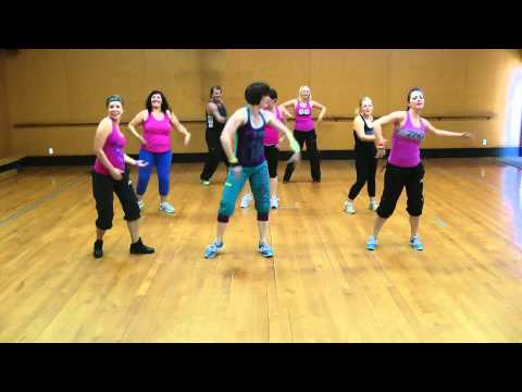 Zumba Fitness dance 'Set it off' by Timomatic танец зумбо зумба танец